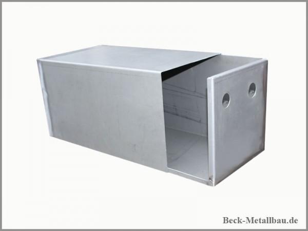 Unimog Batteriekasten für alle U-Modelle Unbehandelt