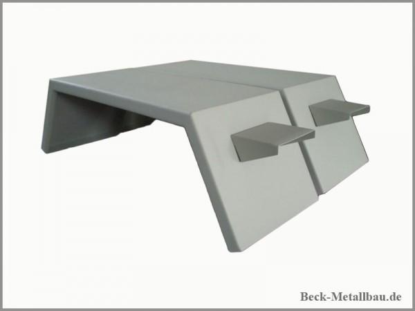Hintere Kotflügel MB-Track 600/800 mit Lichthalter